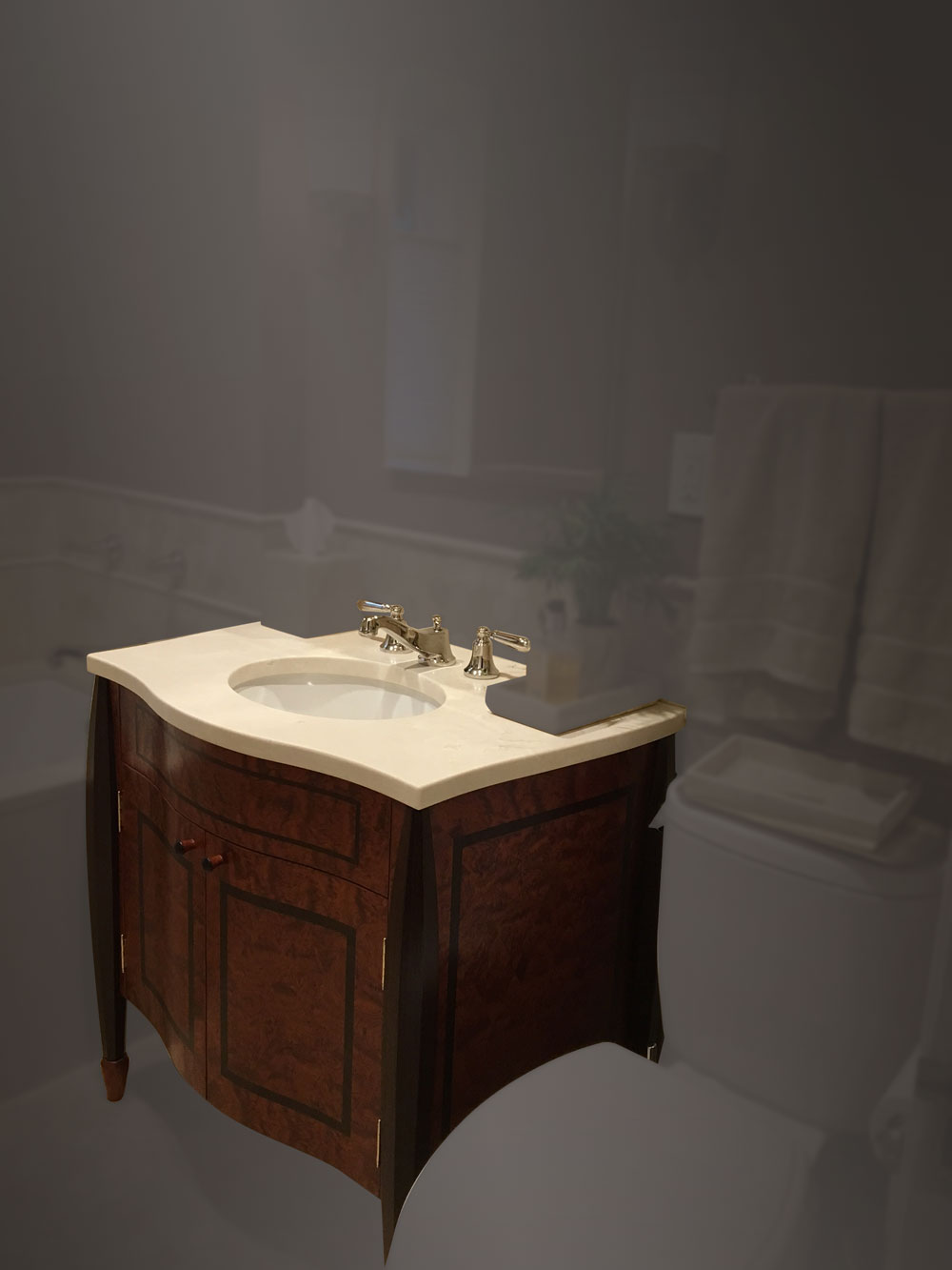 Winston Bathroom Vanity Cabinet